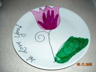 Diy designer plates can you make a lasting impression for Diy ceramic plates