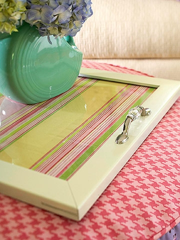 Diy Serving Tray Practice What You Pinterest
