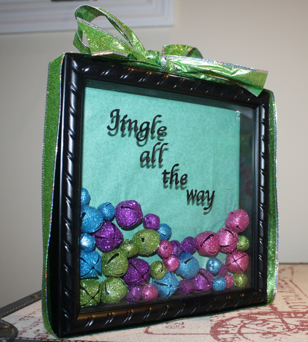 The Jingle Bell Holiday Shadow Box Practice What You