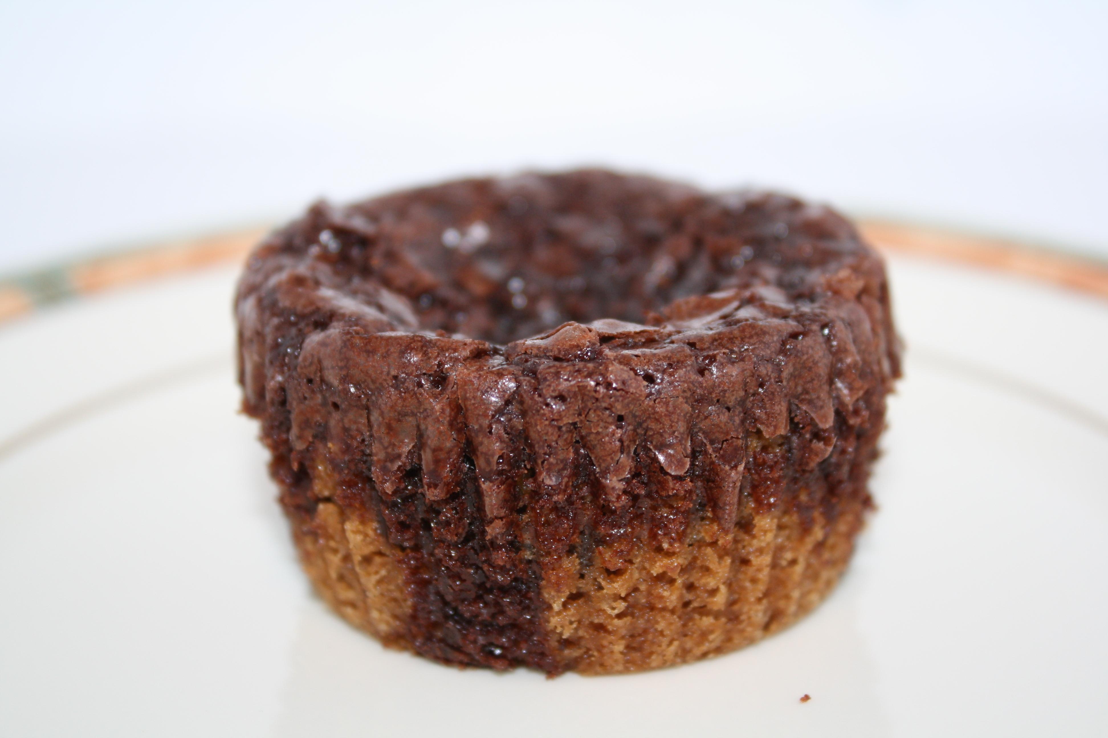 Ghirardelli Brownie Mix Cake Like