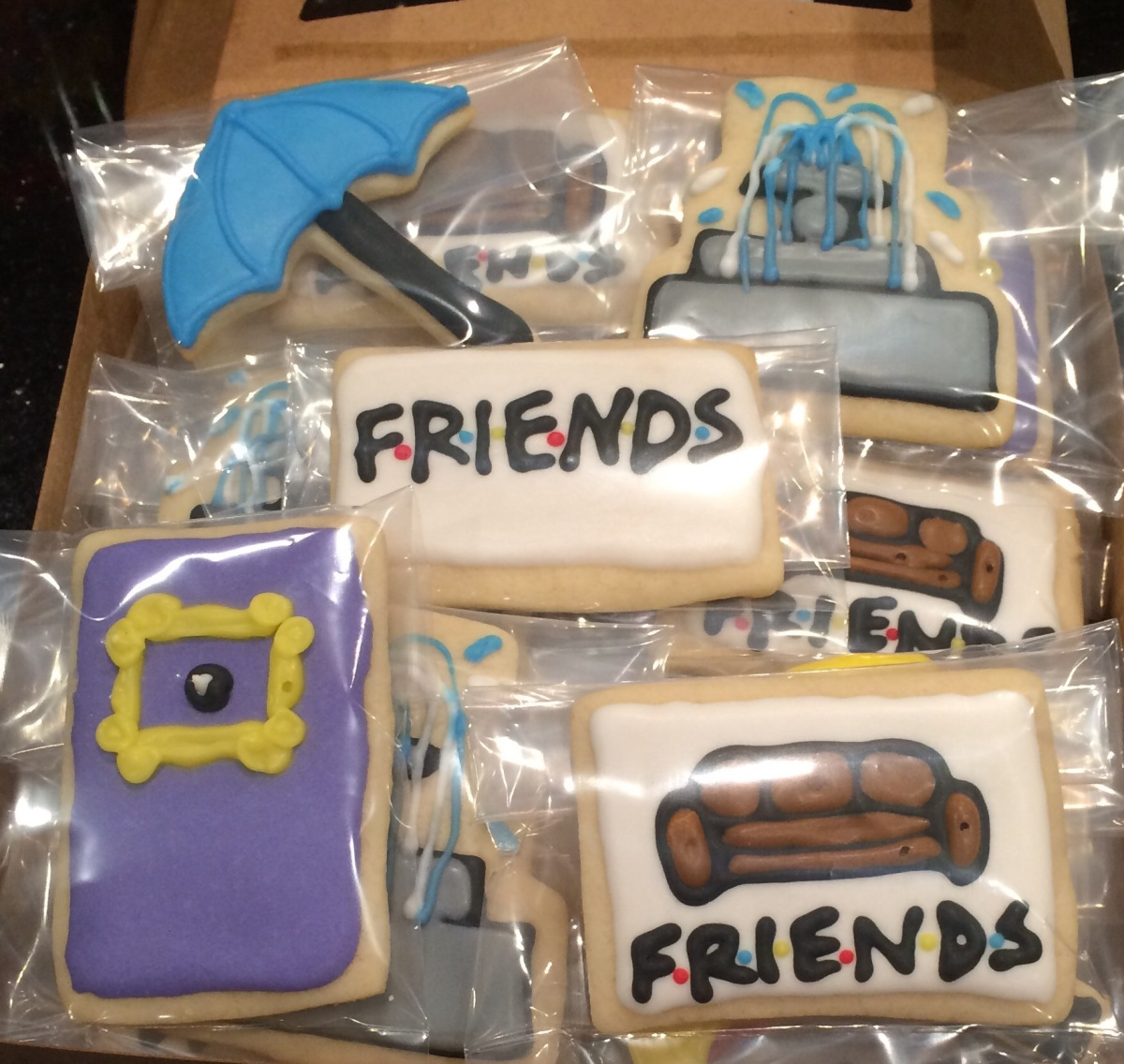 Friends Cookies | Practice What You Pinterest